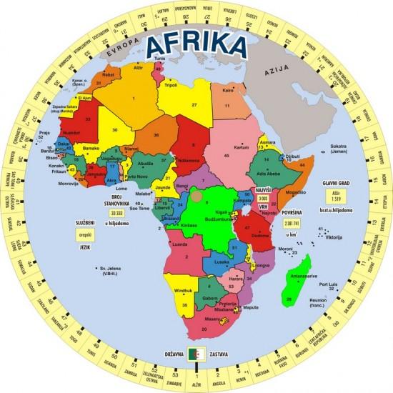 КРУГ ЗНАЊА - АФРИКА